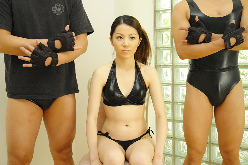 Lovely Japanese girl likes threesomes