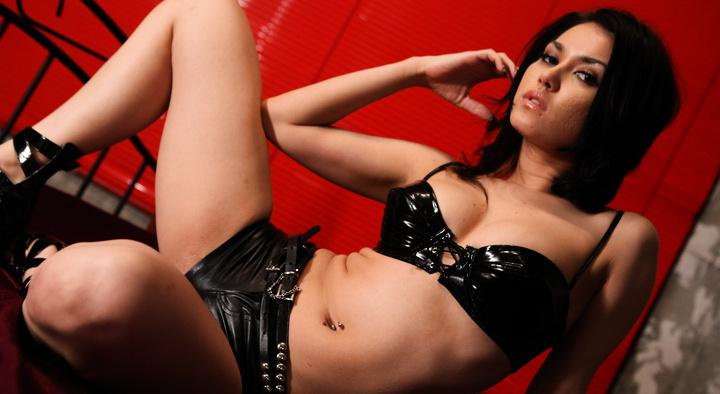 Maria Ozawa Asian model fucks two guys and sucks stroking him