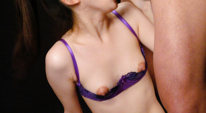 Teen in kinky lingerie gets teased and gangbanged