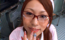 Saki Kozakura Lovely Asian doll is a kinky nurse!