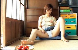 Chisato Shouda Amazing mature Japanese chick masturbated