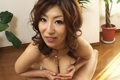 Naho Hazuki Asian beauty has great tits and enjoys giving blowjobs