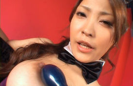 Kokomi Sakura Hot Asian doll gets sexy in costume