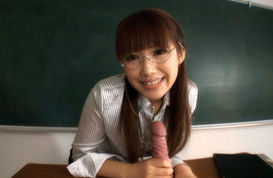Kirara Kurokawa Sweet Asian teacher is a hottie with big tits