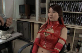Yui Tatsumi sweet Asian doll is tied up