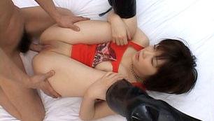 Kasumi Uehara Asian doll enjoys hot sex