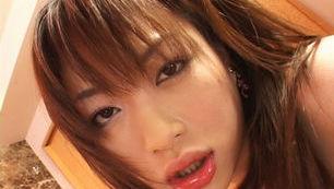 Sweet Asian Teen Akari Hoshino Gets a Creampie