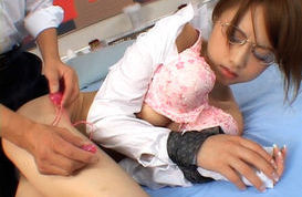Akiho Yoshizawa Hot Asian doll gets a facial