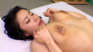 Hina Hanami  Amazing Japanese babe shows her big tits