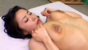 Hina Hanami  Amazing Japanese babe shows her big tits