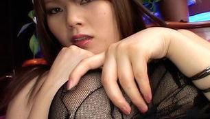 Sayaka Minami busty Asian babe
