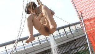 Beautiful Asian babe Mari Kamiya gets enslaved enjoys anal toying
