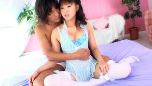 Petite Asian girl Hina Hinako gets her amazing anal teased and screwed