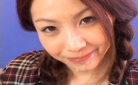 Rina Koizumi Hot Asian model is an amateur with cum