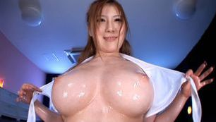Momoka Nishina´s Big Tits Oiled Up While She´s Fucked