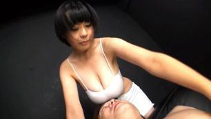 Sakura Mano sweet Japanese tits are sexy