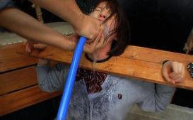 Ryo Tsujimoto and Miharu in crazy hard core sex