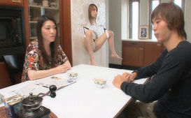 Pretty Japanese gal enjoys showing her hot pussy