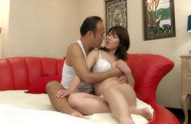 Yoko Imaeda Lovely Asian mature woman is ready for a cock