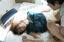 Mature Aika Miura gets sprayed with cum on her face