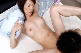 Misuzu Shiratori Mature Asian lady has creamed sex