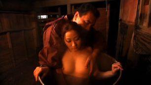Hot MILF Yuu Kawakami gets bent over and drilled hard