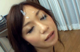 Lovely Japanese housewife enjoys sex