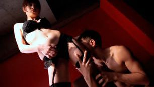 Erina Shirase´s Black Stockings Gets Her Lover Off