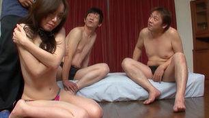 Mizuki Tachibana Japanese doll gets gangbang sex