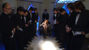 Yuma Asami is a sexy Asian milf who loves having sex with multiple men at once