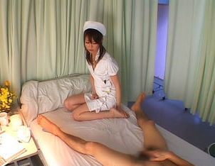 Miyu Misaki Japanese wild nurse