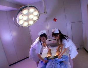 Aki Mizuhara and Misaki Asou big boobed Asian nurses