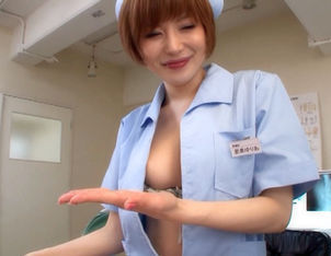 Yuri Satomi is a lovely and kinky Asian nurse