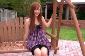 Rin Momoka Pretty Asian girl enjoys an outdoor fucking