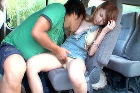 Arisa Kuroki Naughty Asian doll likes outdoor sex