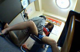 Sexy Office Babe Gets Bent Over And Fucked In Her Cubicle