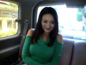 Risa Murakami is a sweet Asian babe who likes sex in the car