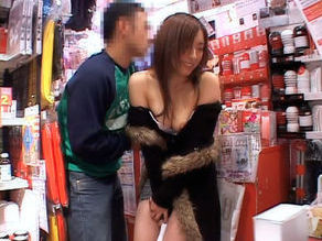 Saya Yukimi Lovely Asian babe gets some public sex