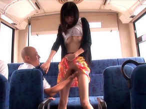 Aino Kishi Asian model gives public sex