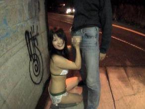 Yuka Kurihara Naughty Asian doll likes sex in public