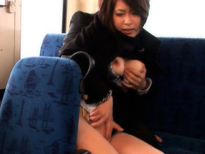 Saki Oosuka Hot Asian babe and hot public sex