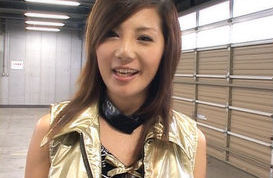 Rena Nagai Amazing Asian girl is a racequeen