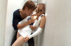 Kaede Fuyutsuki is a lovely and horny Asian babe