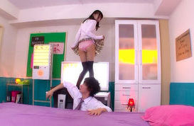 Aino Kishi Sweet Asian school girl is sexy