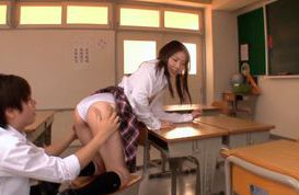 Experienced schoolgirl Maho Ichikawa in crazy fucking session