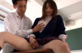 Hotaru Yukino hot Asian chick is a Japanese schoolgirl