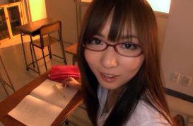 Yuu Asakura Asian schoolgirl