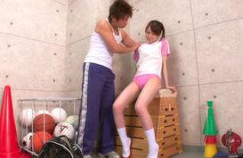 Naho Koizumi Naughty Asian girl has sex at school