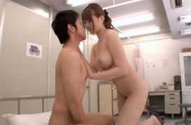 Naked school with a hot teacher Momoka Nishina giving awesome blowjob