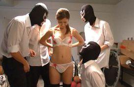 Wild gang-bang action with horny and filthy Akari Asahina